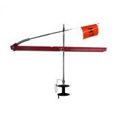 HT Enterprise Polar Thunder Tip-Up, Red, 150m