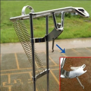 Fishing Rod Holder with Automatic Tip-Up Hook Setter