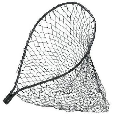 Frabill Tangle Free Heavy Poly Replacement Net, 80cm x 100cm