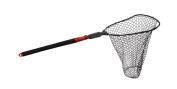 Ego S2 Slider Deep Rubber Mesh Landing Net, Large/60cm , Black/Red