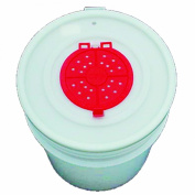 Challenge 50060 Bait Bucket Lid with Opening, 18.9l, White