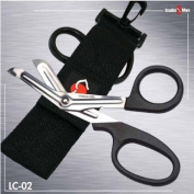 420SS underwater scissors with Nylon sheath and clip hook Scuba - Fishing - Boating