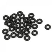 Como 30 Pcs 2.5mm x 6.5mm x 2mm Rubber O Rings for Wacky Worm Fishing
