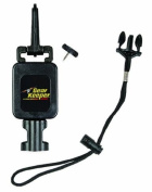 Gear Keeper RT4-1072 Retractable Wading Staff Tether Combo Mount System (Snap Clip or Threaded Stud Mount) with Q/C-II Lanyard Accessory