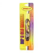 Spike It SP18002 Scent Marker Dip N Glo Garlic Double Tip, Chartreuse/Orange