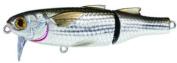 Koppers Mullet Salt Water Wakebait, Silver/Brown, 8.9cm , 5/240ml