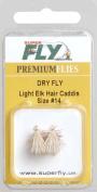 DRY-ELK HAIR CADDIS-#14