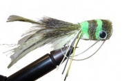 Deer Hair Frog Popper by Wild Water, Size 1, Qty. 1