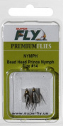 Superfly Fishing Lures Beadhead Prince Nymph #14