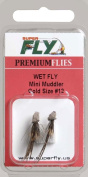 Superfly Fishing Lures Wet Fly Mini Muddler Gold #12