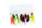 Bass Fly Fishing Flies Kit - Dave Whitlock - Collection of 7 Flies