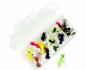Panfish Fly Fishing Flies Kit - Collection of 18 Flies