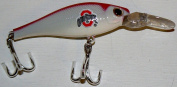NCAA Officially Licenced Ohio State Buckeyes Sports Collector's Series Minnow Fishing Lure
