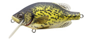 Koppers Shallow Crappie Lure, 6.4cm , 3/240ml, Yellow/Matte