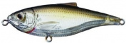 Koppers Sardine Scaled Salt Water Lure, 8.9cm , Suspend, Ghost/Amber