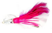 Boone Tuna Treat 6/0 Rigged Lure, Pink/White, 15cm