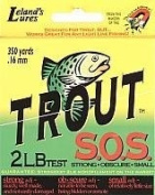 Trout S.O.S. Line Spool (0.9kg Test), 400-Yard