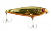 Bomber Salt Water Badonk-A-Donk Low Pitch Lures, Gold/Black Back/Orange Belly, 8.9cm