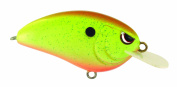 Spro Little John Crank Bait-Pack of 1, Rootbeer Chartreuse