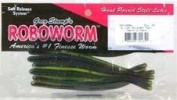 Roboworm Straight Tail Worm, Aaron's Magic., 11cm