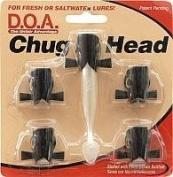 D.O.A. Chug Head 5per pack Black #CH5-423