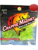 Leland Lures 4.4cm Crappie Magnets - Chartreuse/silver Flash 15 pack