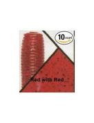 Gary Yamamoto 7.6cm Senko, Red with Red Flake