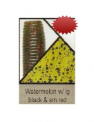 Gary Yamamoto 10.2cm Senko, Watermelon with Red & Black Flake