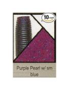 Gary Yamamoto 12.7cm Senko, Purple Pearl with Blue Flake