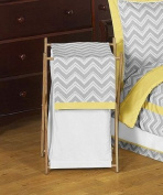 Baby/Kids Clothes Laundry Hamper for Yellow and Grey Zig Zag Bedding by Sweet Jojo Designs