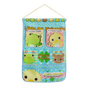 [Frog & Chicken] Blue/Wall Hanging/ Hanging Baskets / Wall Baskets / Baskets