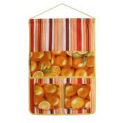 [Orange] Wall hanging/ Wall organisers / Wall Baskets / Hanging Baskets/ Baskets