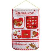 [Bear & Heart] Red/Wall Hanging/ Wall Organisers / Wall Baskets / Hanging Baskets