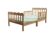 Fizzy Wood Toddler Bed Natural