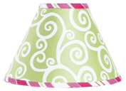 Pink and Green Olivia Lamp Shade by Sweet Jojo Designs