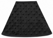 Solid Black Minky Dot Lamp Shade by Sweet Jojo Designs