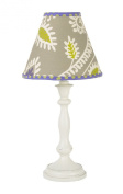 Cotton Tale Designs Standard Lamp and Shade, Periwinkle