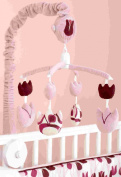 Beansprout Talullah Mobile, Pink/Maroon