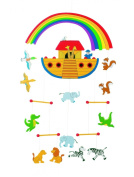 Noahs Ark Wooden Mobile 30.5cm by Goki