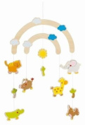 Jungle Friends Wooden Ceiling Mobile