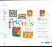 Friends A Treasury Of Quotations ..... Minature Book