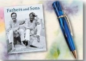 Fathers and Sons ..... Minature Book with Ink Pen & Card