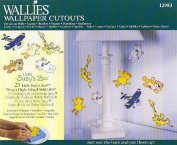Little Suzy's Zoo NURSERY Wallpaper Cutouts - Set of 25