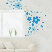 [Flying Flowers] Decorative Wall Stickers Appliques Decals Wall Decor Home Decor