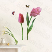 [Floral Partner] Decorative Wall Stickers Appliques Decals Wall Decor Home Decor