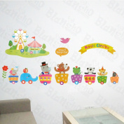 [Ferris Wheel] Decorative Wall Stickers Appliques Decals Wall Decor Home Decor