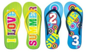 I love summer sandals Peel and Stick vinyl stickers wall art graphics decal