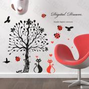 [True Love] Decorative Wall Stickers Appliques Decals Wall Decor Home Decor