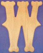 Western Wood Wall Letter 25.4cm W