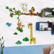 [Happy Zoo] Decorative Wall Stickers Appliques Decals Wall Decor Home Decor